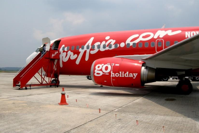 3 Air Asia Airbus in Johor Bahru