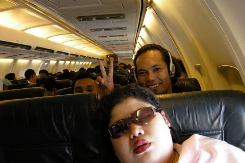 4 Air Asia Plane interior
