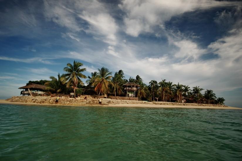 Philippines Coco Loco Island view