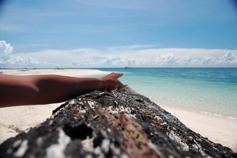 Pulau Selingan Turtle Island beach 6
