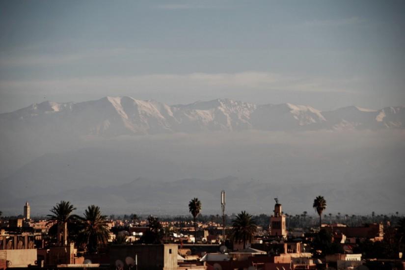 Morocco Marrakesh Atlas Mountains