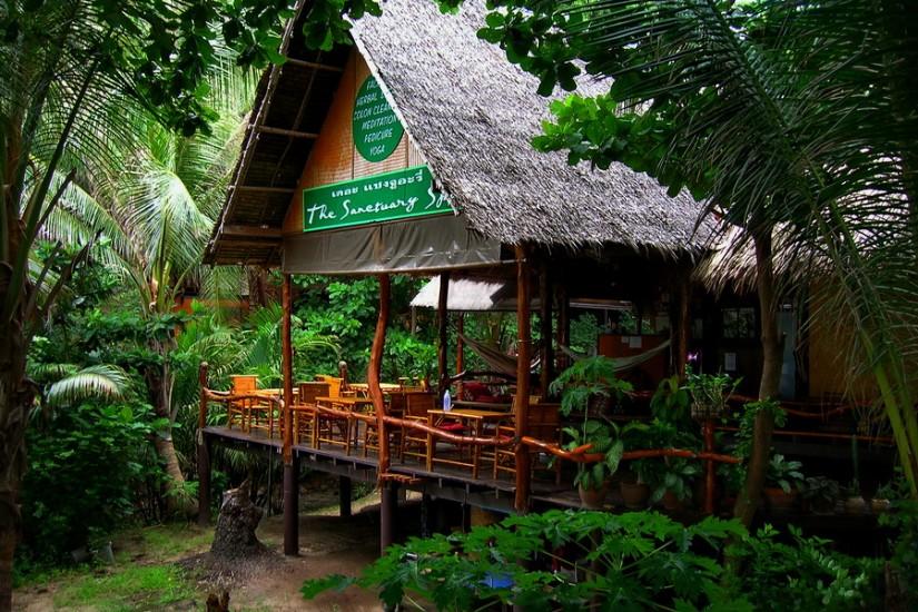 Thailand Ko Phangan SanctuaryKoh Phangan zilele 1, 2 si 3 101