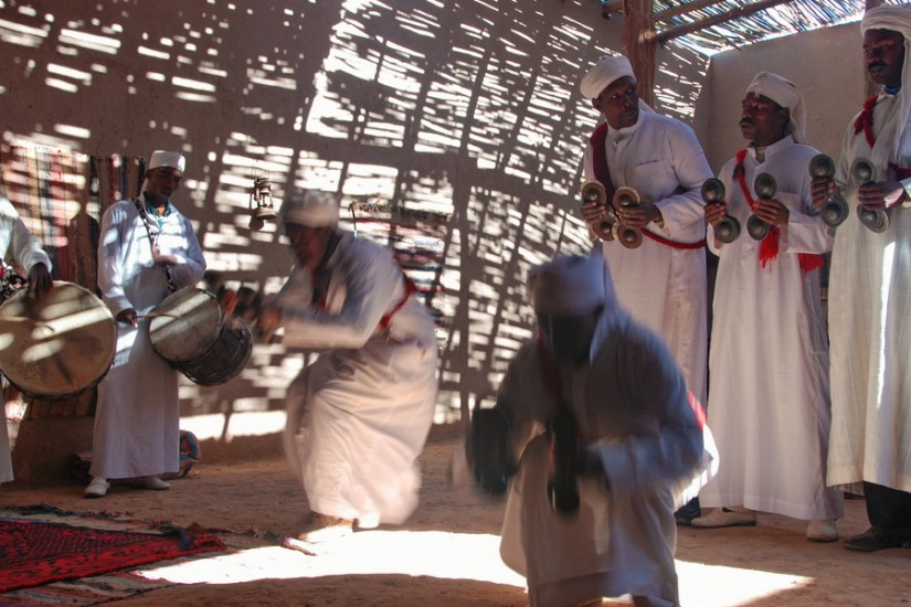 Morocco Merzouga Erg Chebbi Sahara Mali music 6