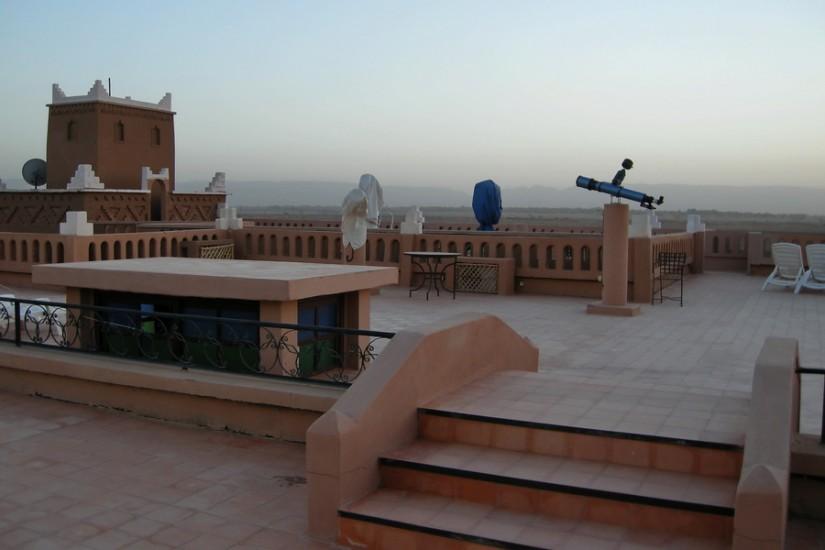 Morocco Zagora Sahara  Tinfou Sky Hotel 2