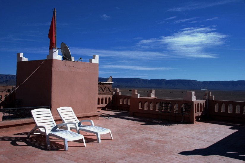 Morocco Zagora Sahara  Tinfou Sky Hotel 7