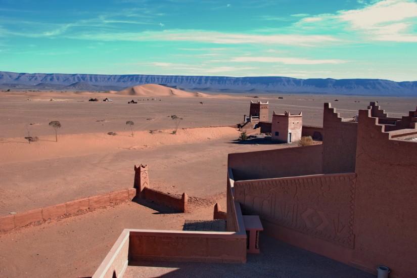 Morocco Zagora Sahara  Tinfou Sky Hotel 8