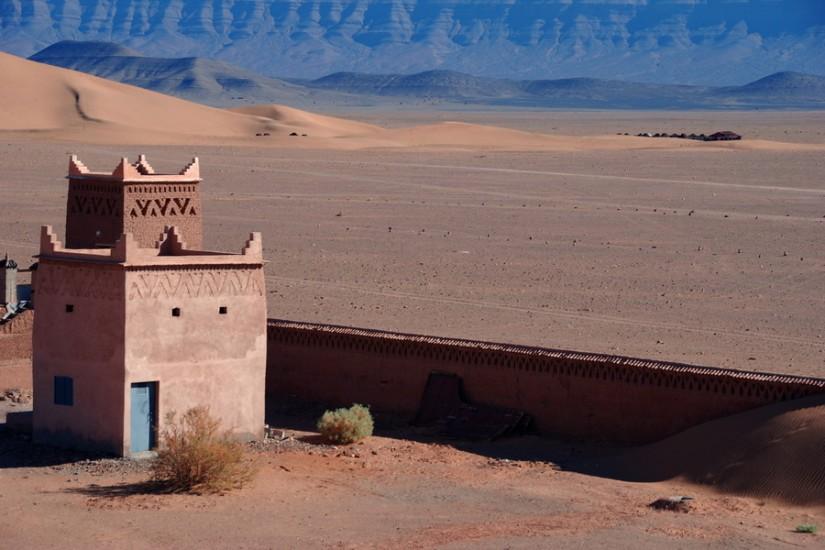 Morocco Zagora Sahara  Tinfou Sky Hotel 9