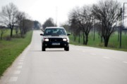 Subaru Forester on Road