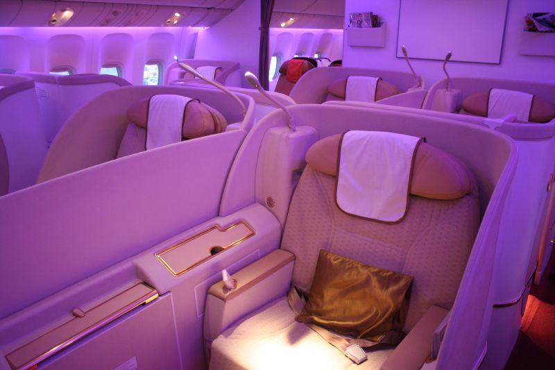 Air India First Class cabin