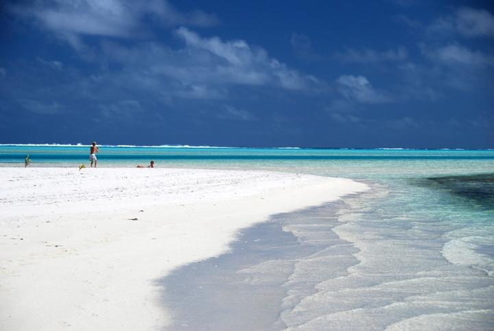 Aitutaki island hopping 7