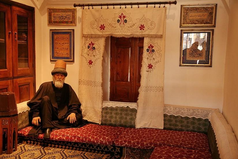 Konya Mevlana Museum Dervish 2