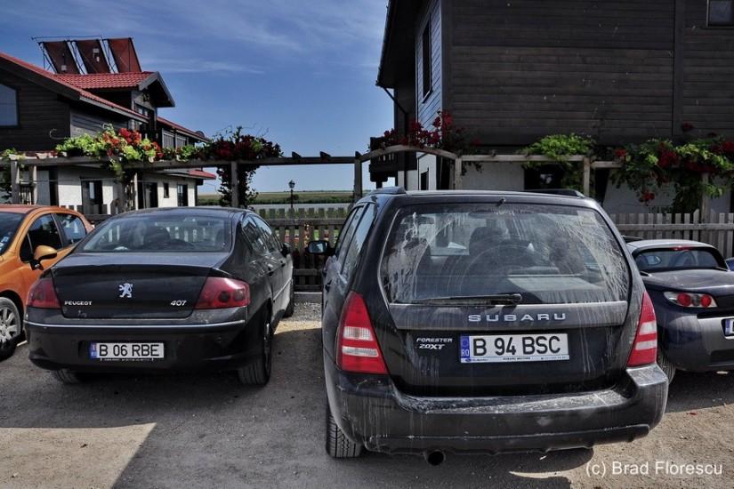 Bulgaria Pestele de Aur restaurant Durankulak Subaru Forester 1