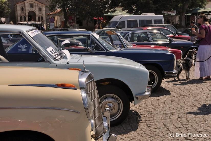 Bulgaria Sozopol Classic Car parade