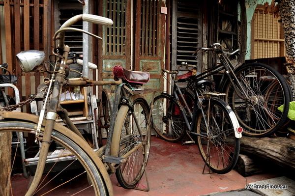 Old bicycles Penang