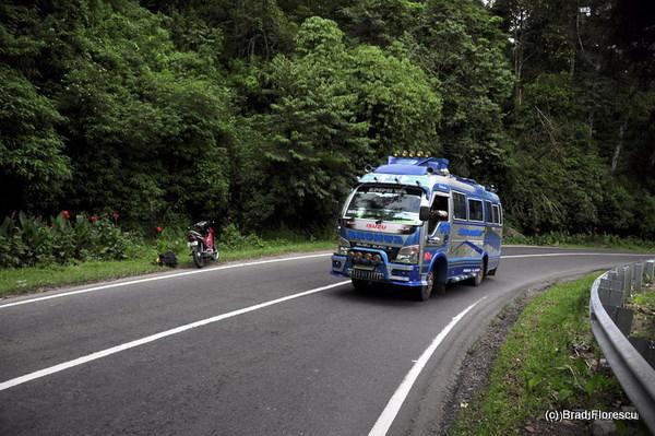 Berastagi Medan road