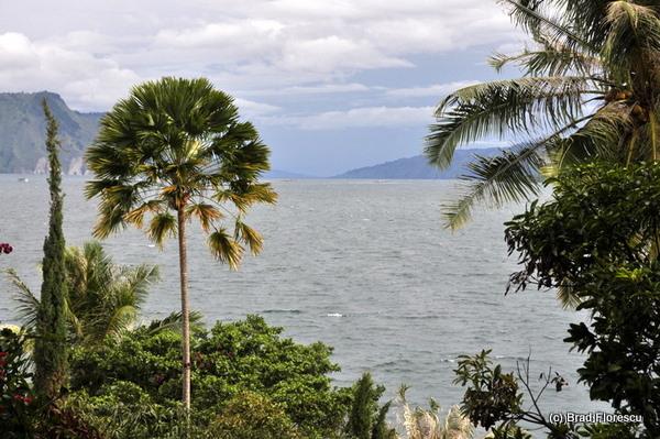 Lake Toba from Carolina Hotel Tuk Tuk