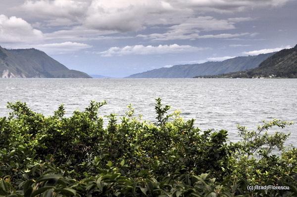 Lake Toba from Tuk-Tuk