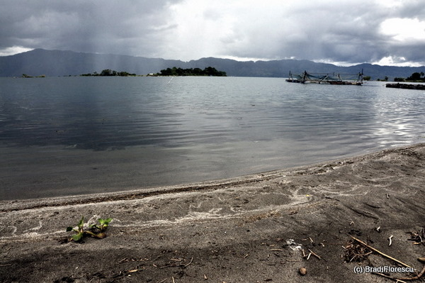 Lake Toba rain