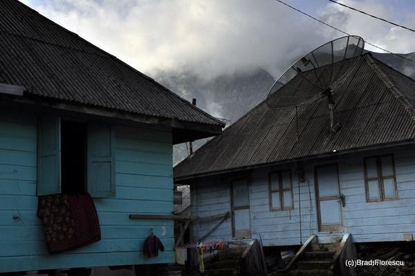 Village Sibayak Volcano