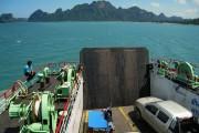 Thailander ferry Donsak Surat Thani