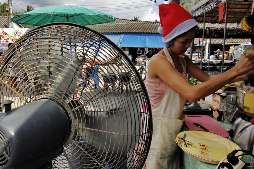 Koh Phangan Thailand Christmas 3