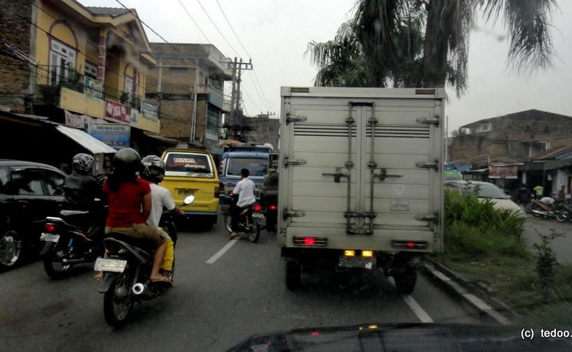 Sumatra Medan traffic
