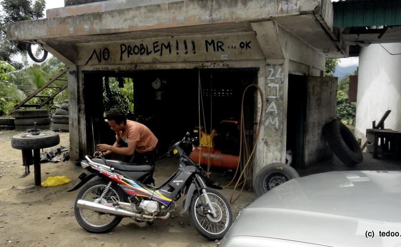 Sumatra car shop no problem