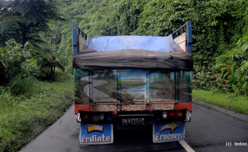 Sumatra painted truck road 1