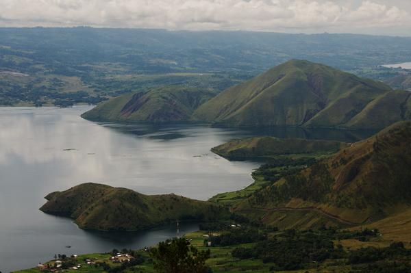 Lake Toba at Tele