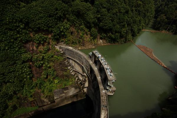 Tangga Dam Asahan River Sumatra
