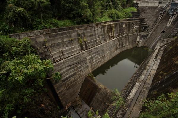 Tangga Dam Asahan River