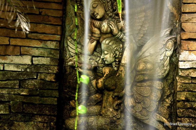 Eranda Herbal Spa waterfall 2