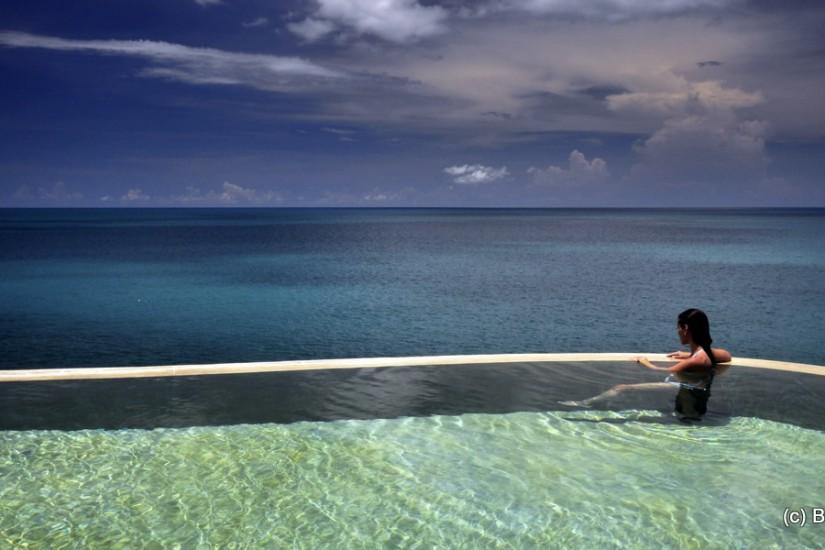 Silavadee accommodation villa infinity pool