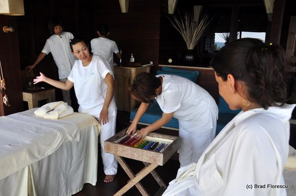Six Senses Samui 4 hands hot stone massage 13