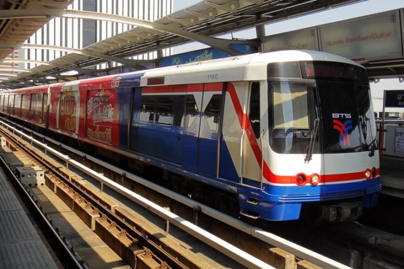 Bangkok BTS Sky Train
