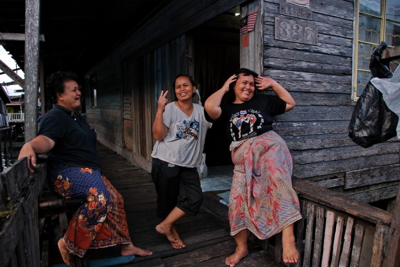 Borneo Sandakan Water VillageDSC_0146