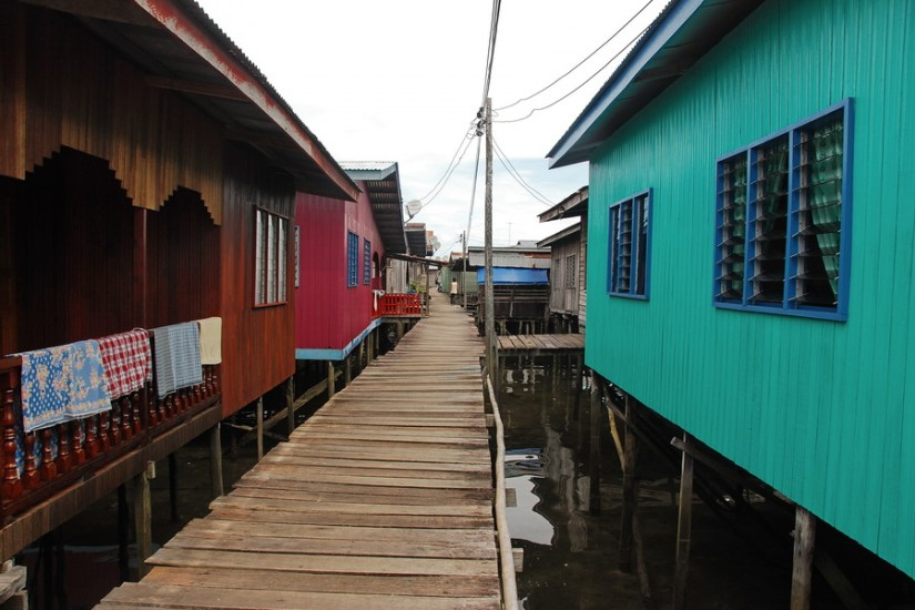 Borneo Semporna Water Village DSC_0012
