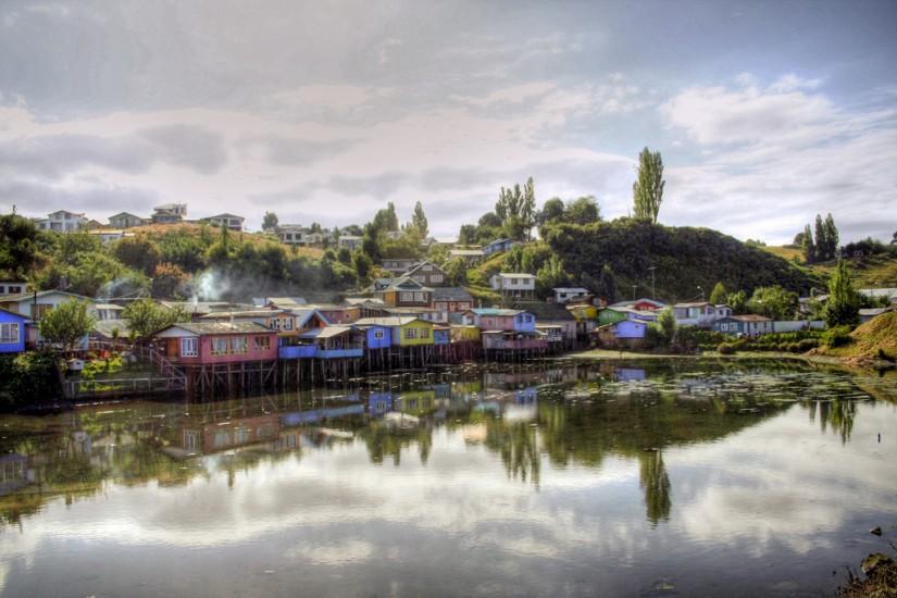Castro Palafitos, Chiloe, Chile 2