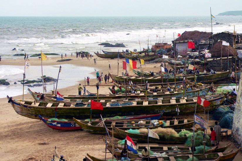 Fishing boats Ghana 1