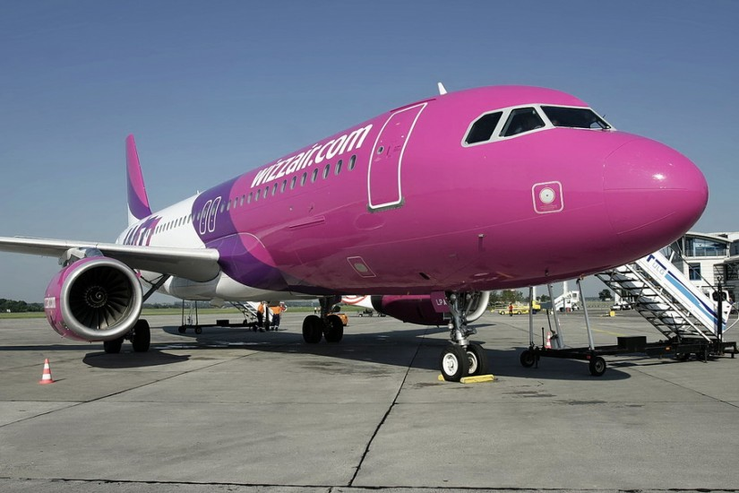 Wizzair aircraft