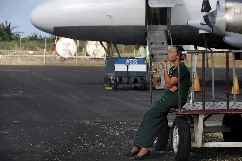 Chathams Pacific Convair Flight Attendant