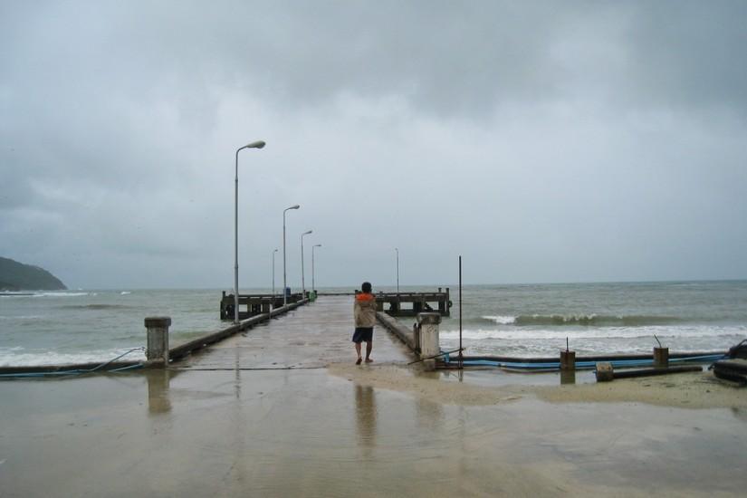 Koh Phangan Rain Storm ThailandIMG_5994