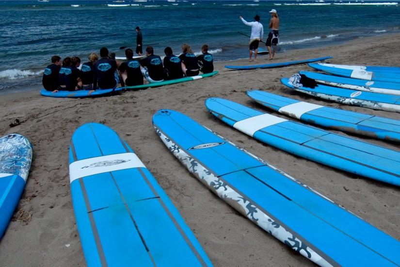 Lectie de Surfing