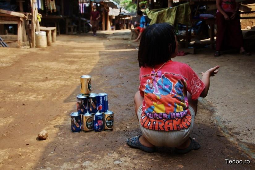 Mae Hong Son Thailand North Kakan Karen Long Neck Village
