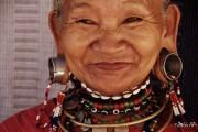 Mae Hong Son Thailand North Kakan Karen Long Neck Woman 2