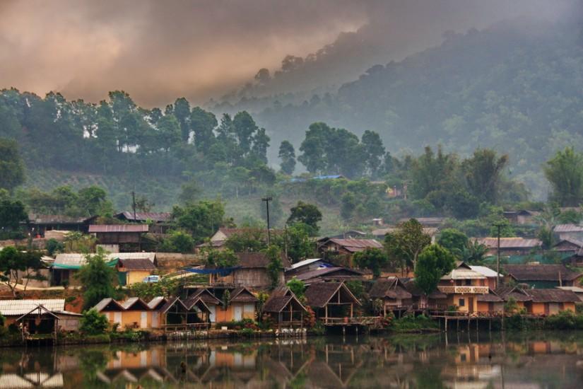 Thailand Mae Hong Son Ban Rak Thai