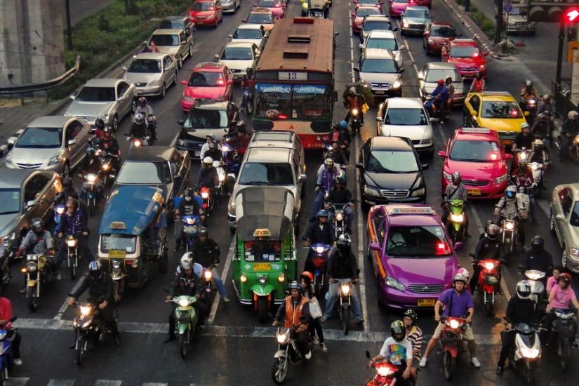 Bangkok traffic 3