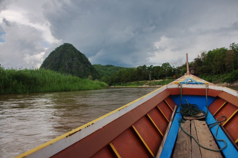 Chiang Rai Mae Kok River cruise boat 2