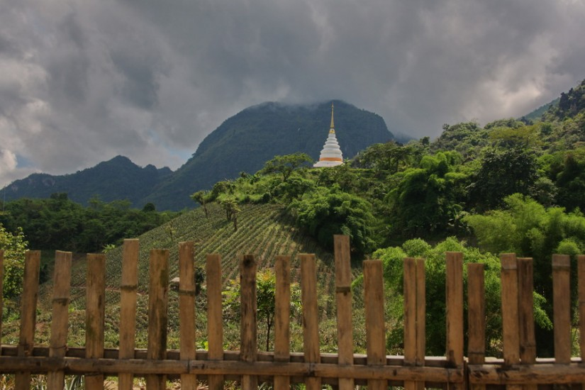 Temple Chiang Rai Province Thailand