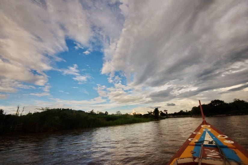 Thailand Chiang Rai MaeKok River Cruise boat 12